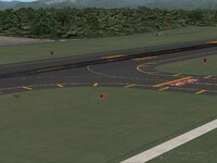 Around the taxiway